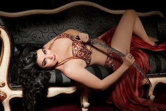 eleni belly dance with sword